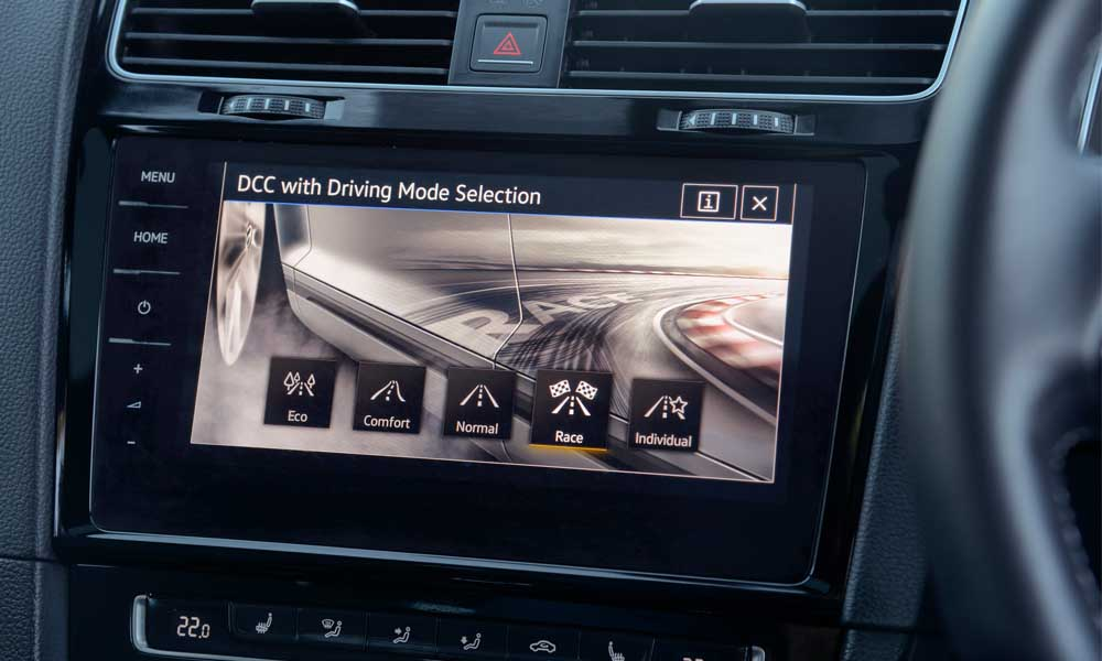 Standard Drive Select includes a Race mode.