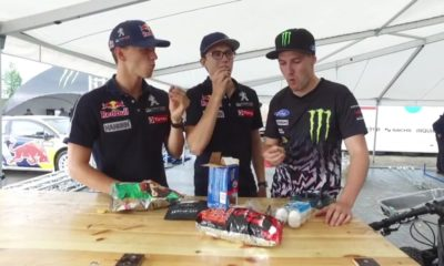 World RX stars test some of SA's popular snacks