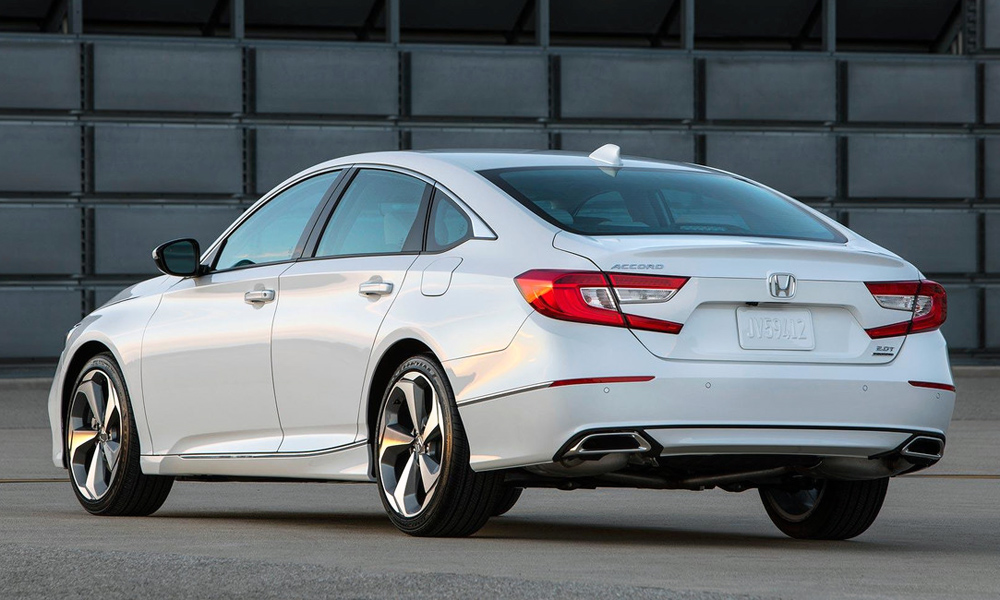 The 2018 Accord features new engines and the option of a ten-speed automatic.