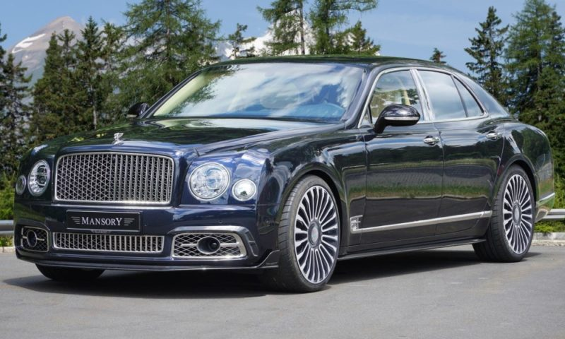Bentley Mulsanne by Mansory front