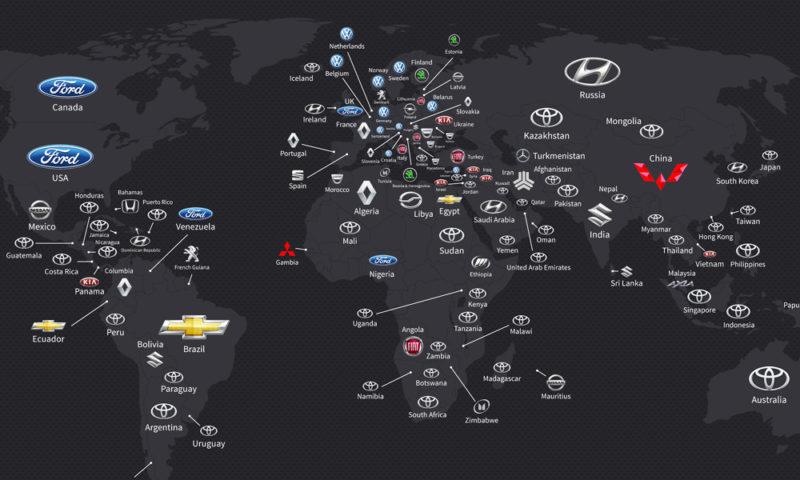 here are the best selling car brands by country car magazine. Black Bedroom Furniture Sets. Home Design Ideas