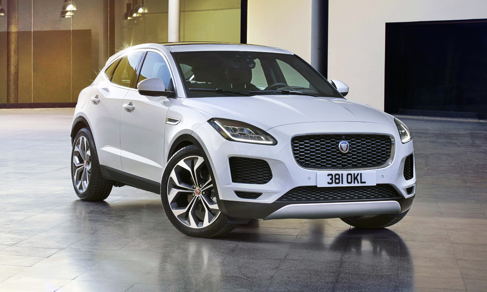The new Jaguar E-Pace has been revealed.