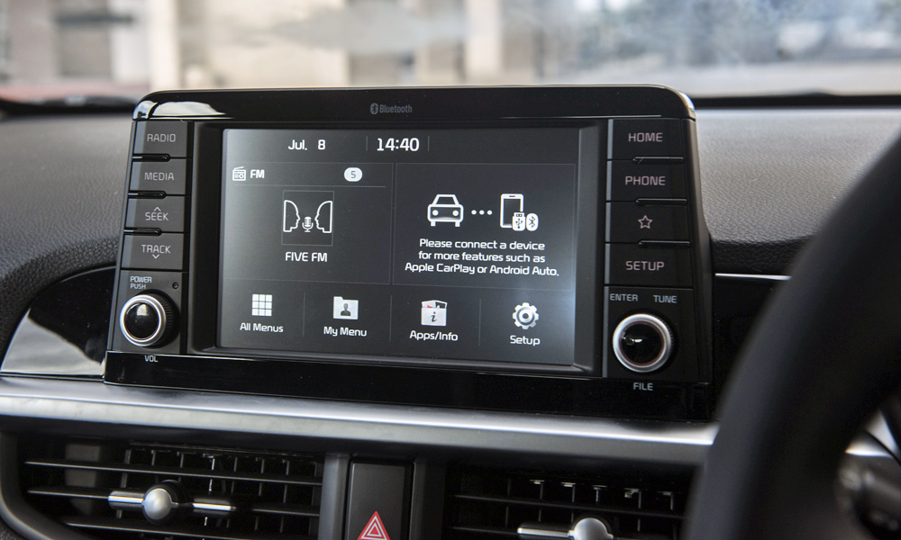 Flagship Smart derivatives feature a seven-inch touchscreen.