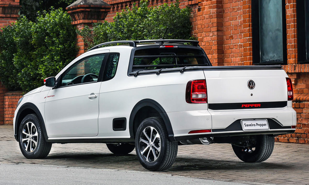 Volkswagen unveils sportily styled Saveiro Pepper... - CAR ...