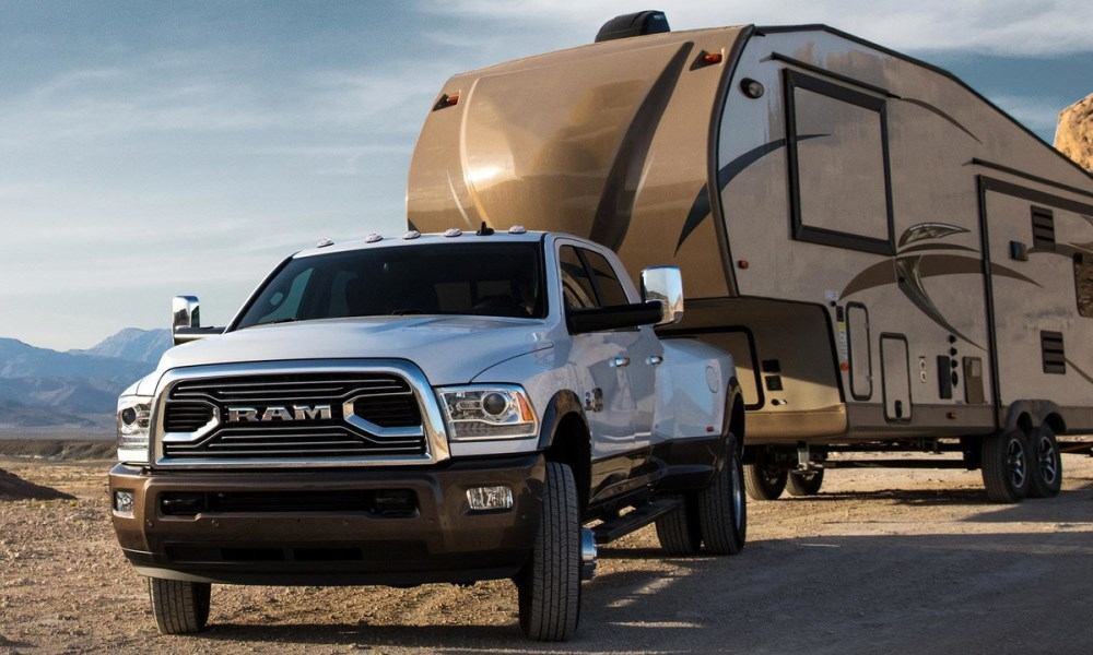 The towing capacity of the updated Ram is pretty darn impressive.