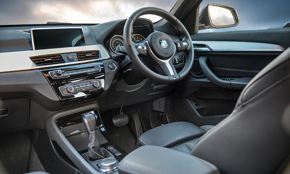 BMW cabin feels slightly more upmarket than that of the Mercedes.