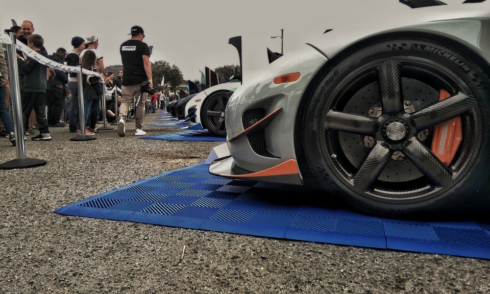 With 10 models present at the event, this was the largest gathering of Koenigsegg models, probably ever.