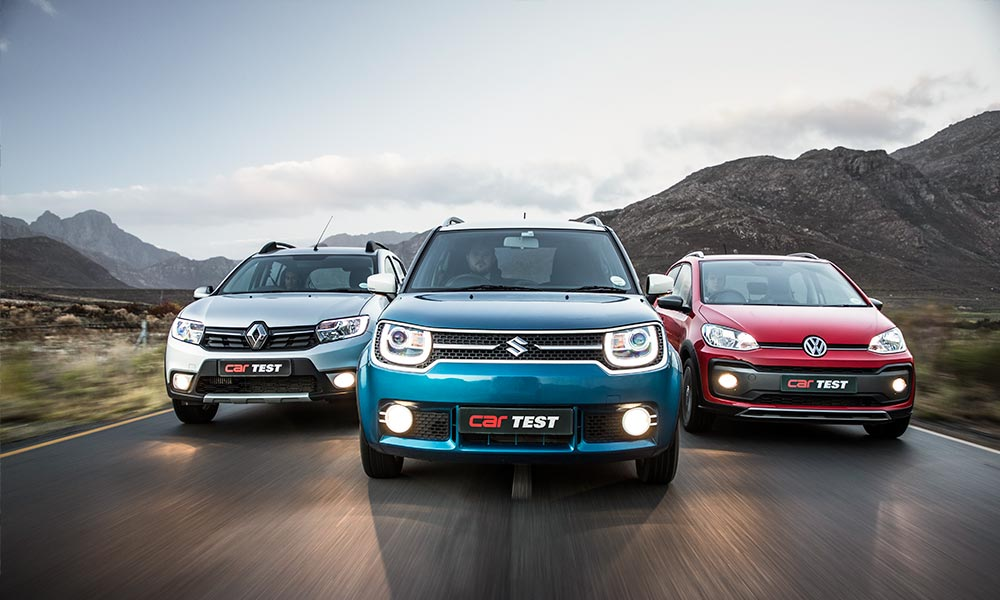 Ignis vs. Sandero Stepway vs. Cross Up