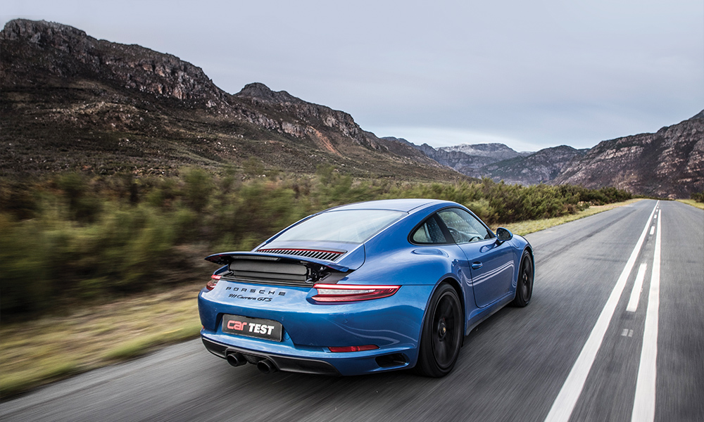 The GTS features the best bits from the Carrera catalogue.