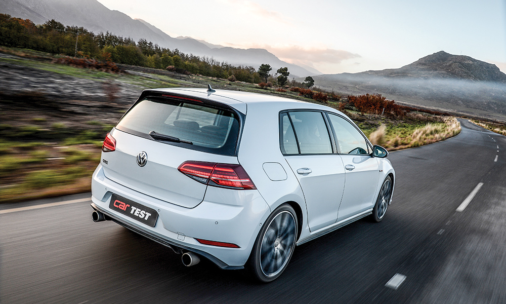 The GTI is visually set apart from the GTD by its exhaust arrangement.