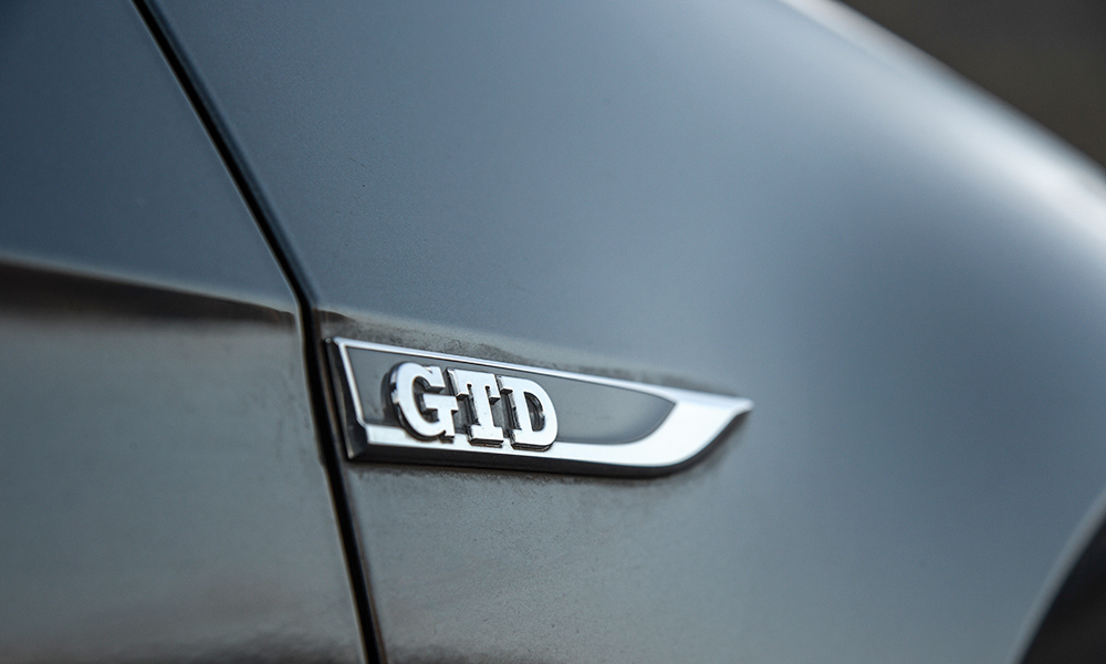 The GTD shares its powertrain with certain Tiguan and Passat derivatives.