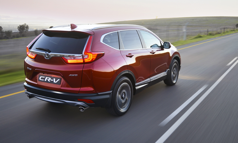 The turbocharged models feature dual-exit exhausts.