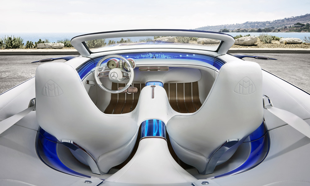 Meet The Vision Mercedes Maybach 6 Cabriolet Car Magazine
