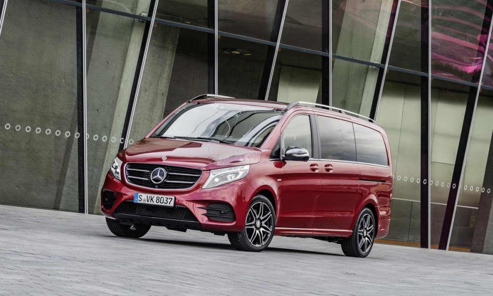 Mercedes-Benz V-Class Limited Edition front