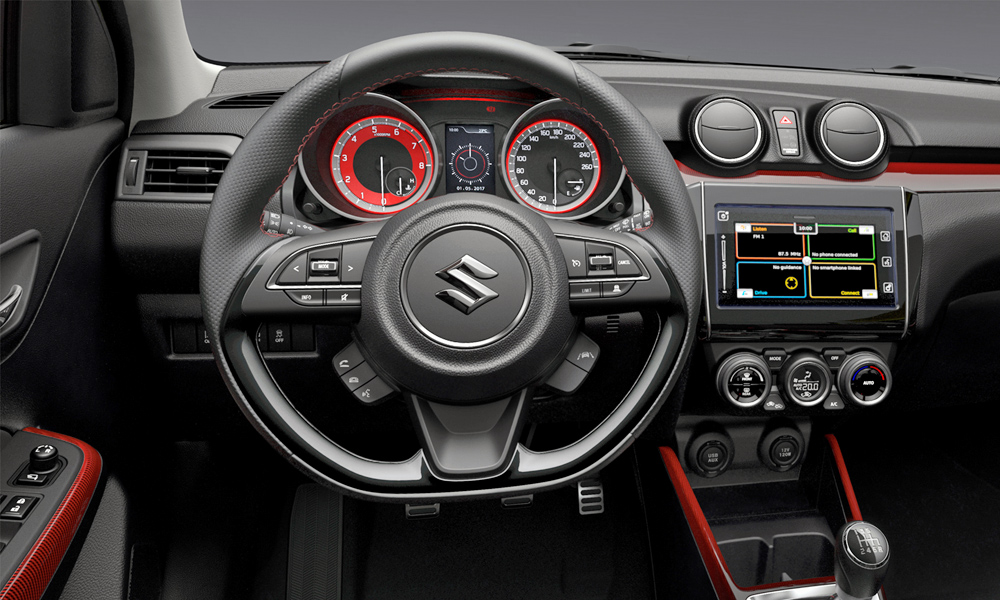 Suzuki reveals new Swift Sport\'s interior, tailpipes... - CAR magazine