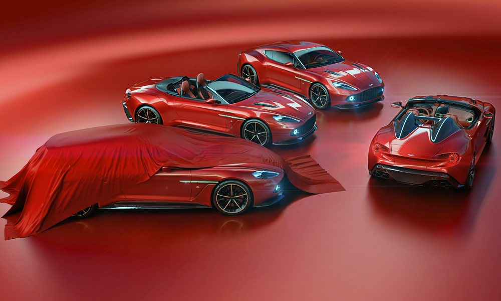 The Aston Martin Vanquish Zagato family has been expanded to four variants.