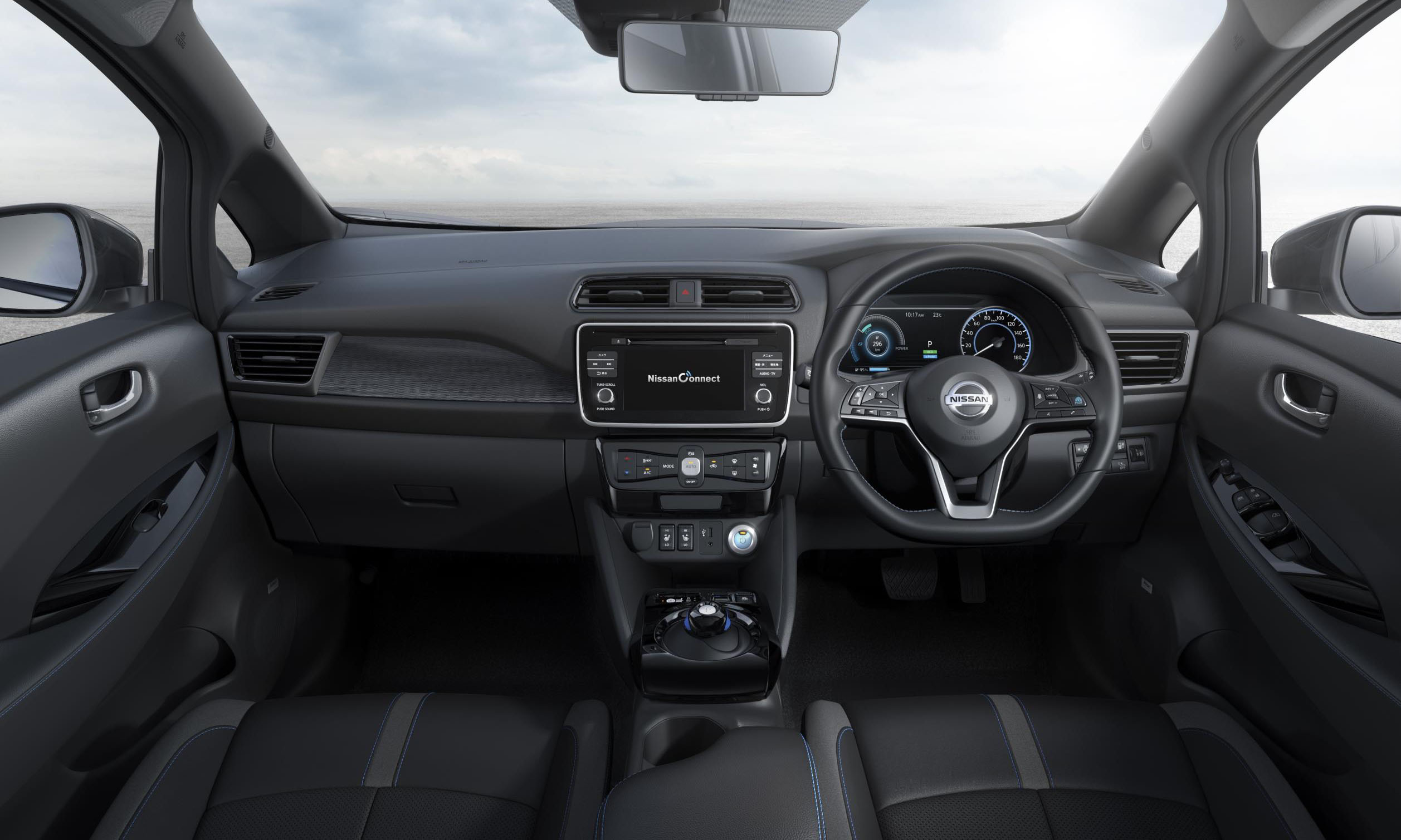 The new interior features a 7-inch TFT screen and climate control which can be activated via an app.