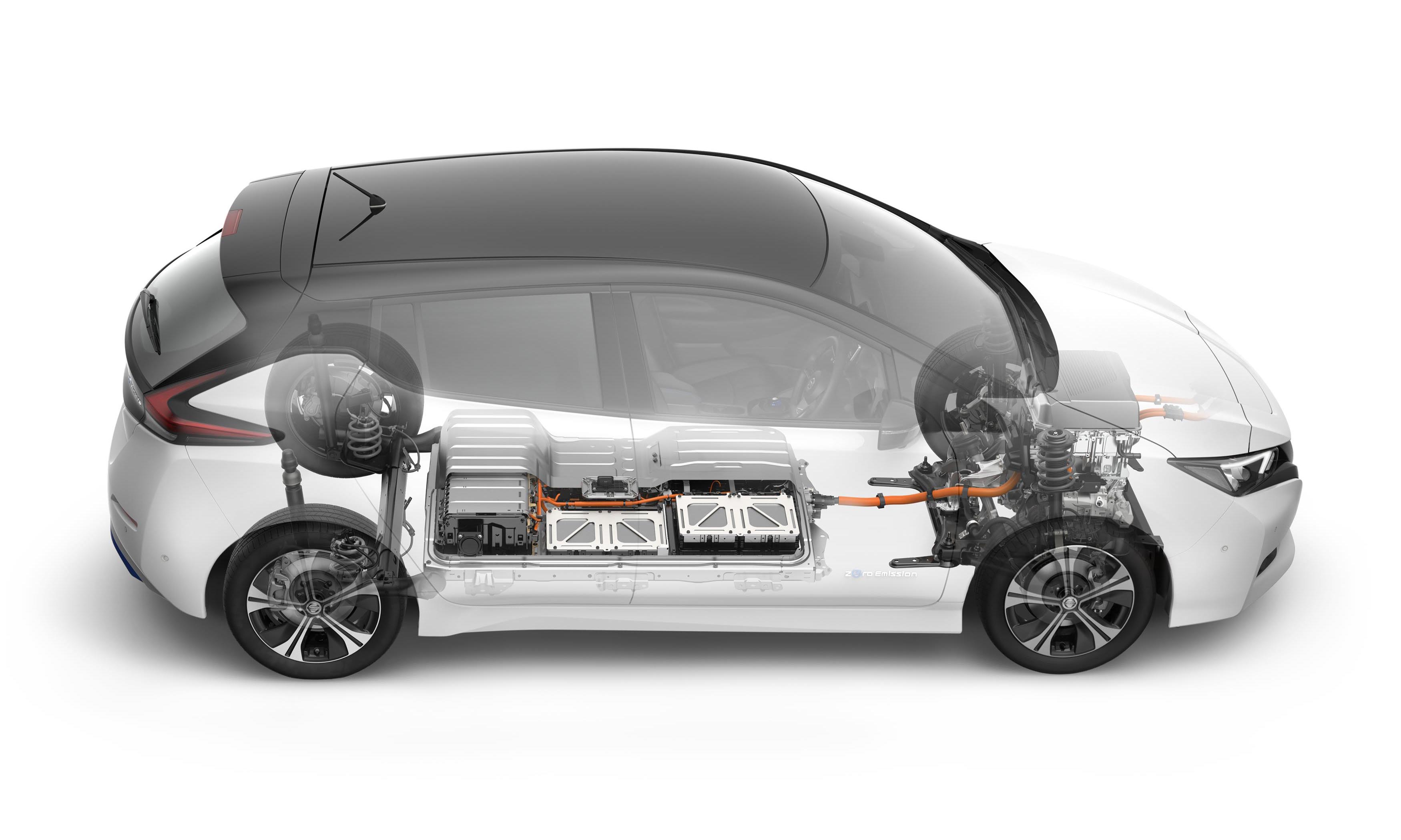 ... See Underneath The Skin, The Higher Capacity LI Ion Battery Produces 40  KWh And