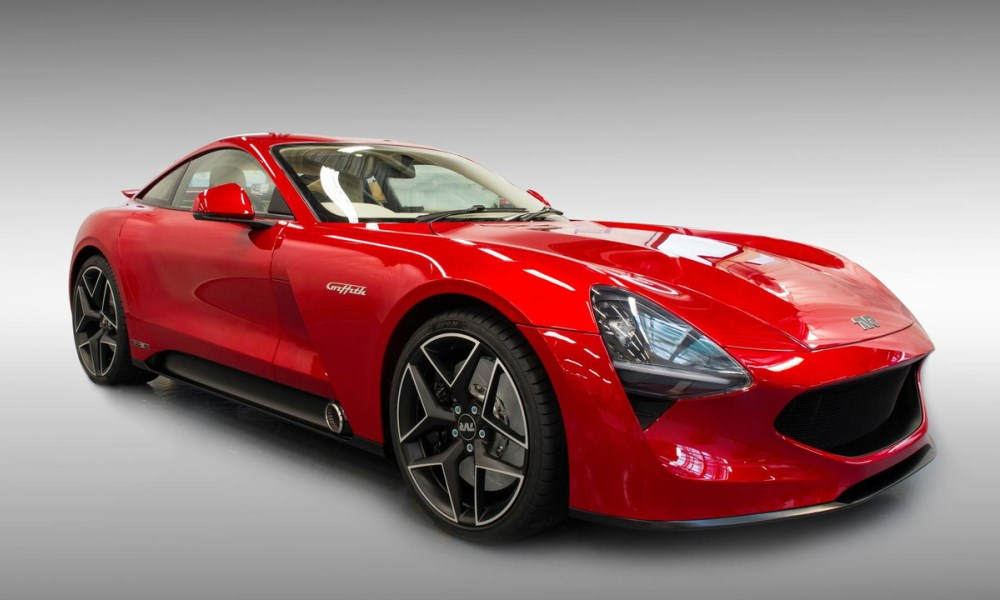 TVR Griffith front