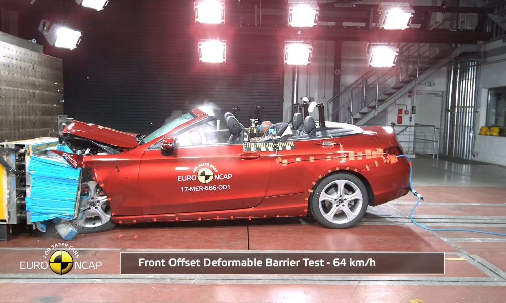 C-Class Crash Test