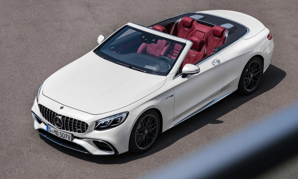 Mercedes Benz S Class Coupe and Cabriolet revised CAR magazine