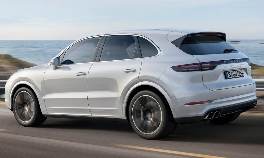 The Cayenne Turbo also features a new braking system.
