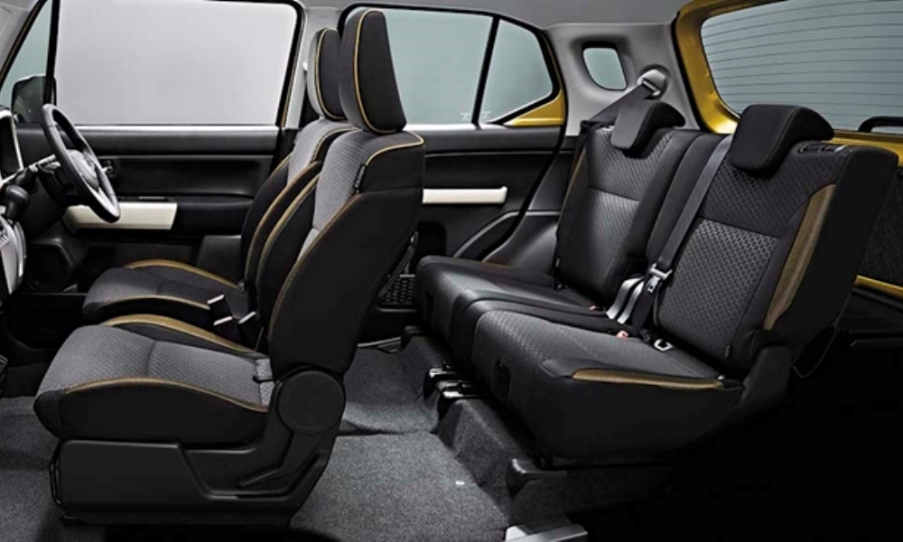 The Xbee is designed to combine a spacious interior with a compact exterior.