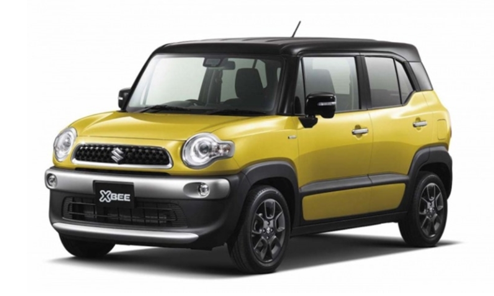 Suzuki has taken the covers  off its latest crossover concept, dubbed the Xbee.