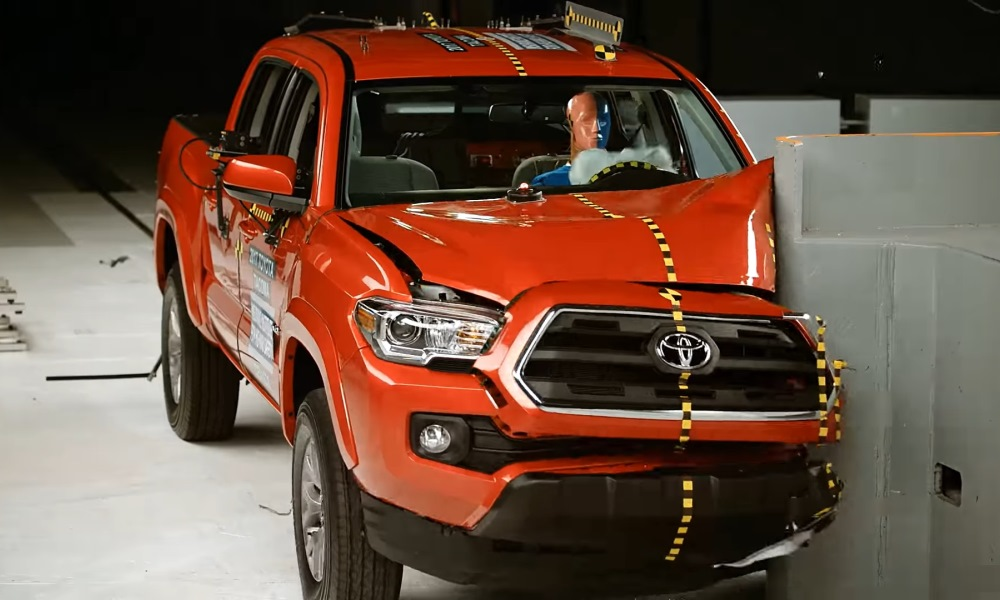 Tacoma crash test