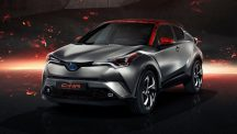Toyota C-HR Hy-Power Concept front