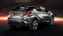 Toyota C-HR Hy-Power Concept rear