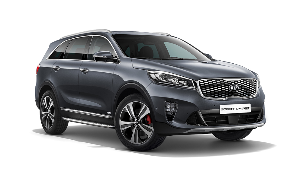 Upgraded Kia Sorento Front