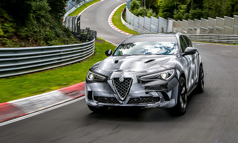 Alfa Romeo Stelvio Qv Bags Ring Record For Suvs Car Magazine
