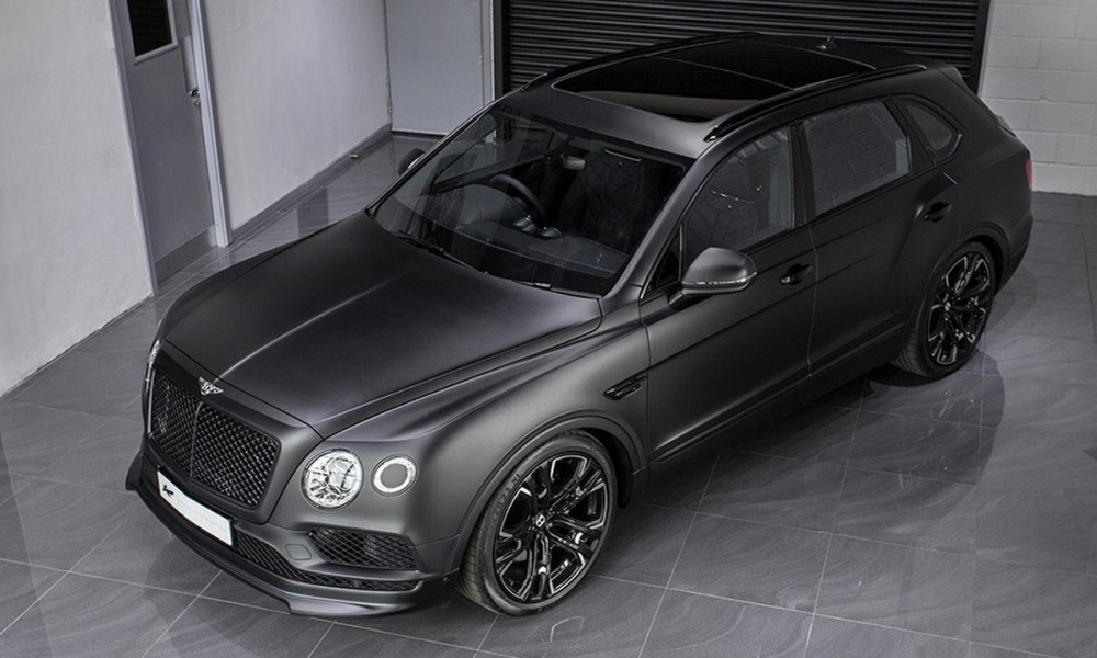 Bentley Bentayga Le Mans Edition front