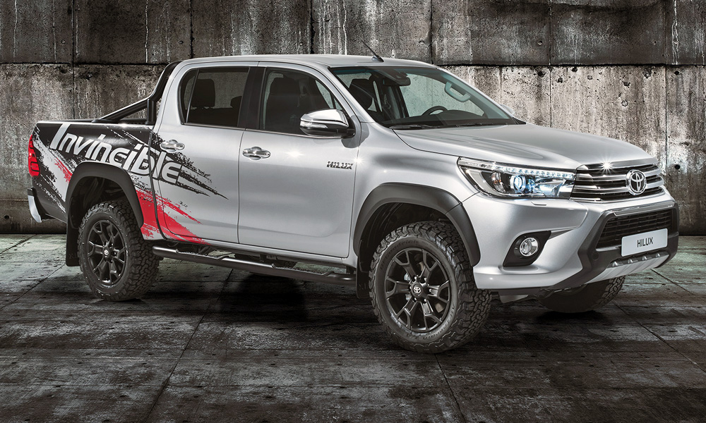 Toyota has revealed the Hilux Invincible 50 show car in Frankfurt.