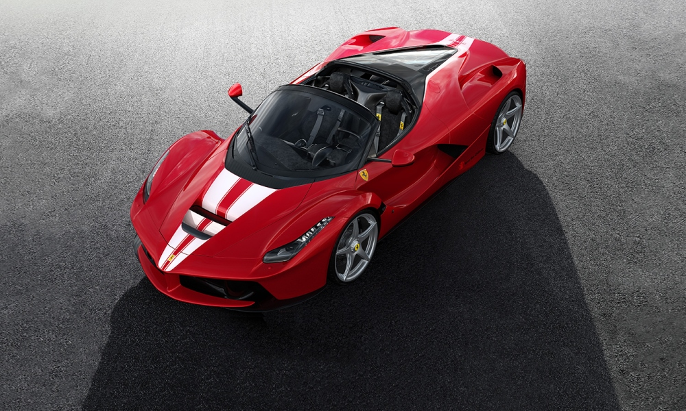 LaFerrari Aperta top