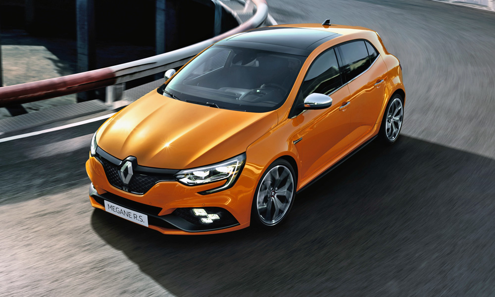 The new Renault Mégane RS has finally been revealed.