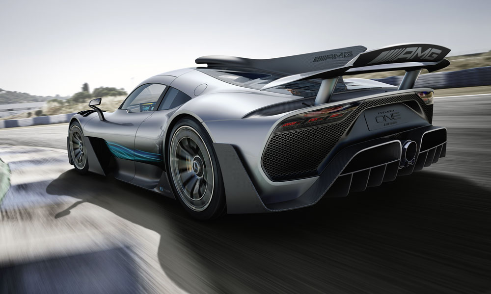 The Mercedes-AMG Project One has been revealed in show car form.