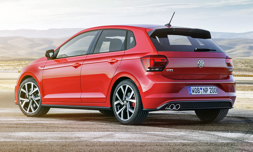 volkswagen reveals new polo gti 39 s 0 100 km h time car magazine. Black Bedroom Furniture Sets. Home Design Ideas