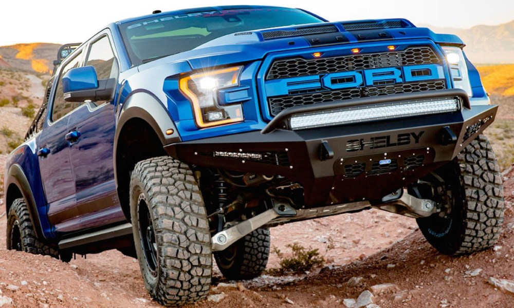 Shelby Ford Raptor Baja front