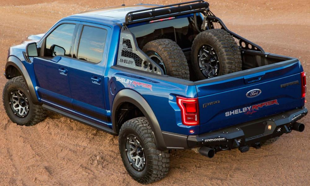 shelby goes all out with new ford f 150 raptor baja car magazine. Black Bedroom Furniture Sets. Home Design Ideas