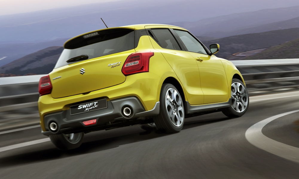 The new Suzuki Swift Sport is powered by a 1,4-litre Boosterjet engine.