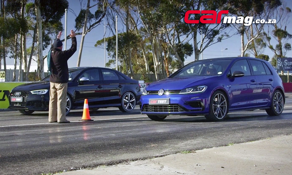 Volkswagen Golf R vs. Audi RS3 Sedan