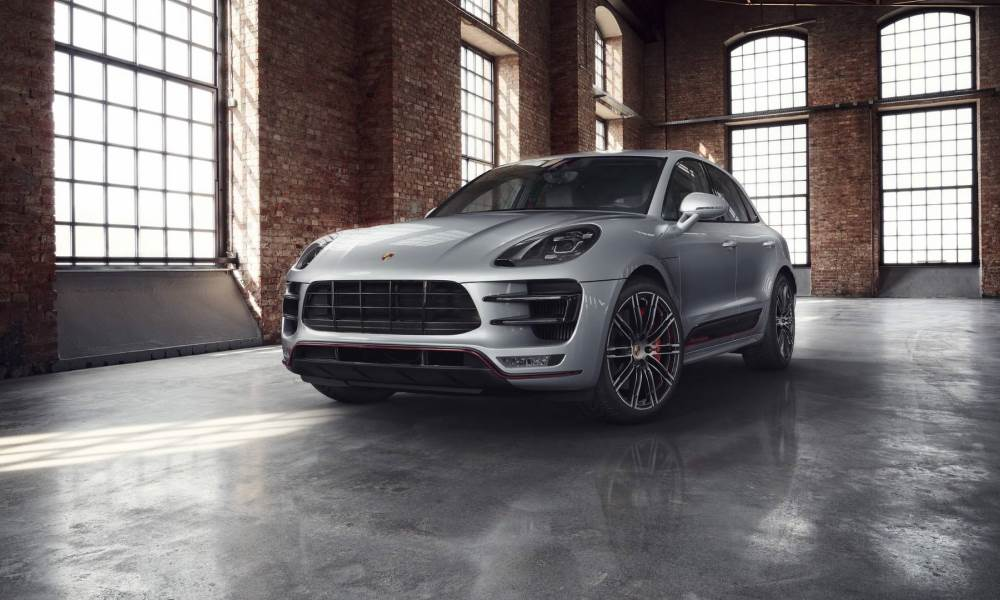 Porsche Macan Turbo Exclusive Performance Edition front