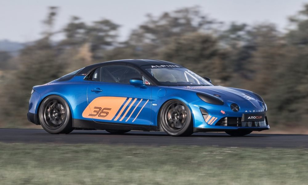 alpine a110 cup revealed for 2018 racing series car magazine. Black Bedroom Furniture Sets. Home Design Ideas