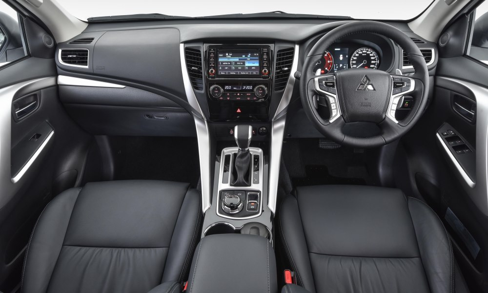 Interior is largely Triton-based but still has an upmarket feel.