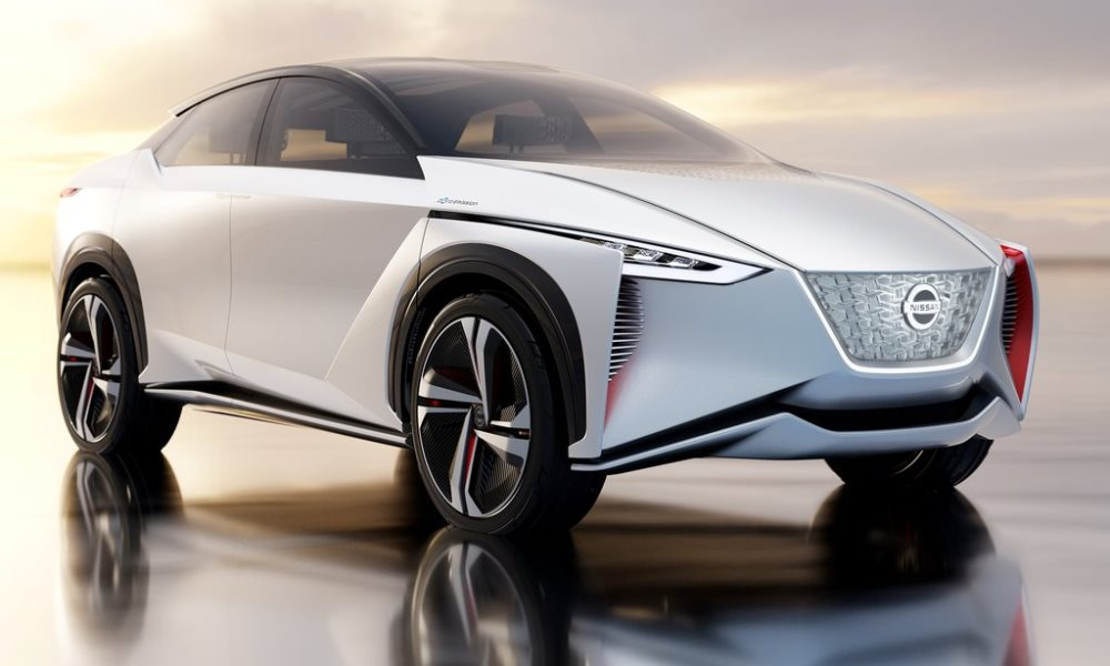 The IMx concept runs on the latest EV architecture from Nissan.