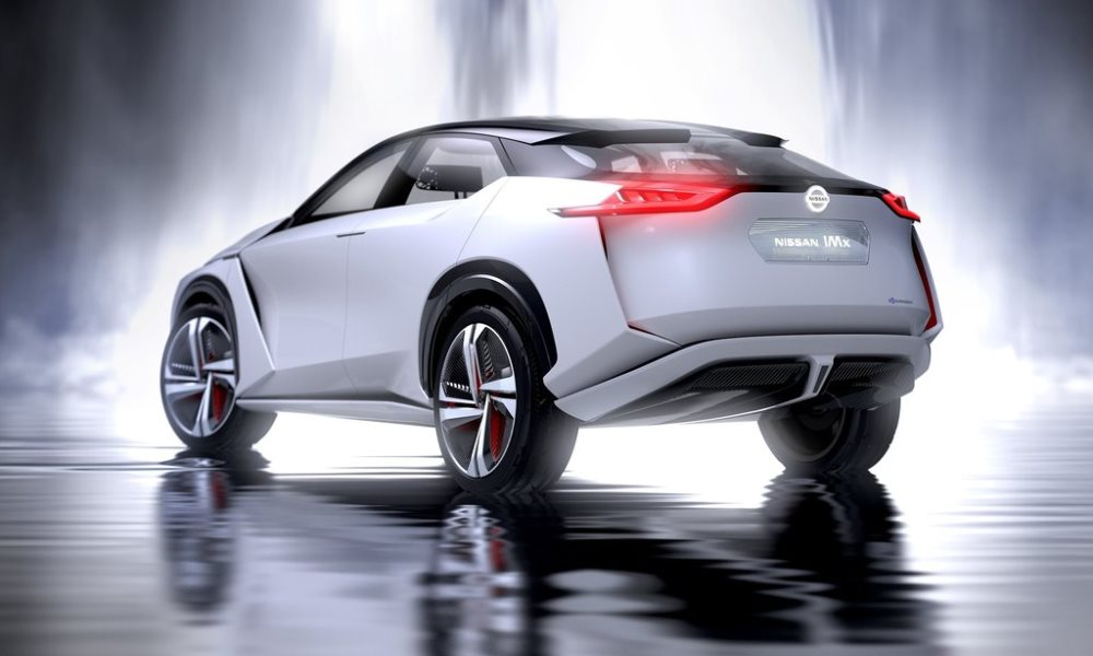 The IMx concept boasts a low centre of gravity.