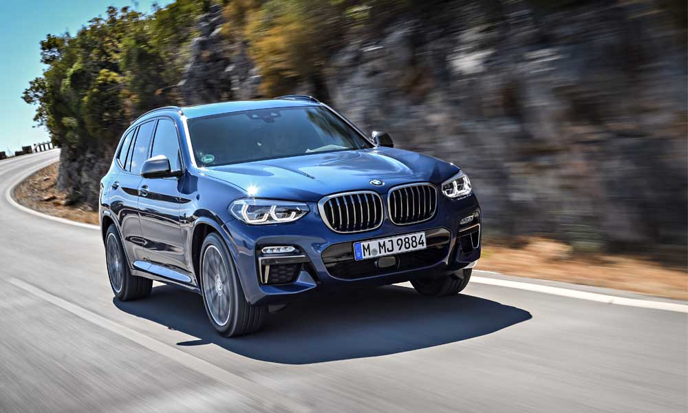 2017 BMW X3 M40i front