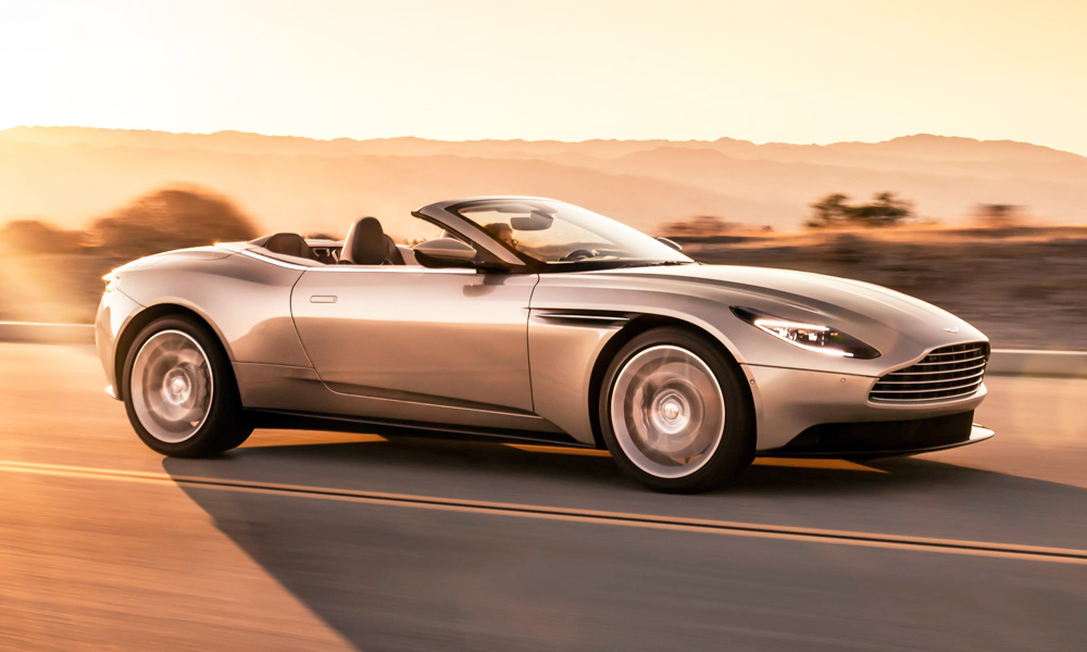 Aston Martin has revealed the new DB11 Volante.